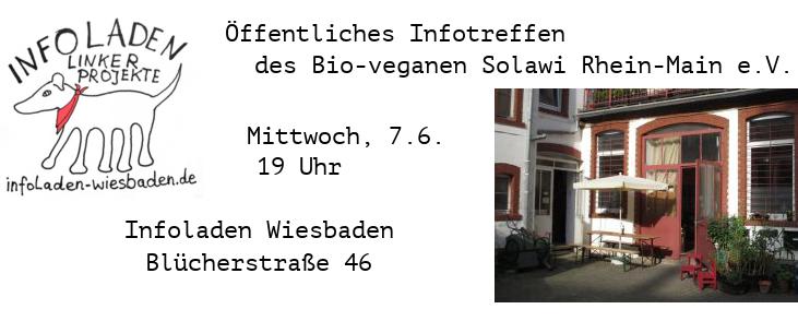 Öffentliches Infotreffen in Wiesbaden, Mi. 7.6.